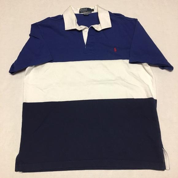 88f9b7e01ed8 Vintage polo ralph lauren striped polo polo shirt.  M_5b7ce50b0e3b86d0117164b4